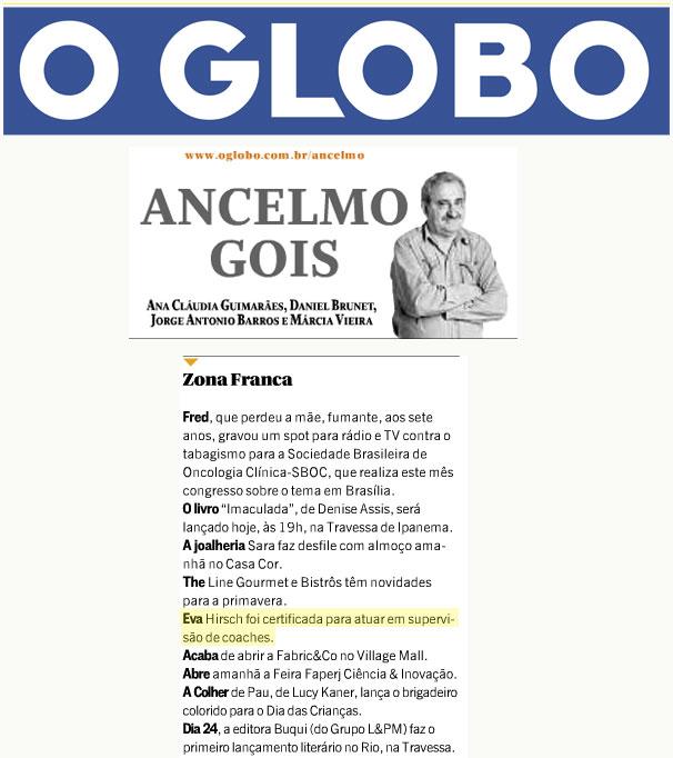 O Globo_Ancelmo Gois_9.10.2013
