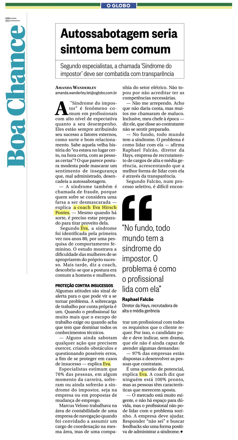 Jornal_OGlobo_Boa_Chance_08-06-2014