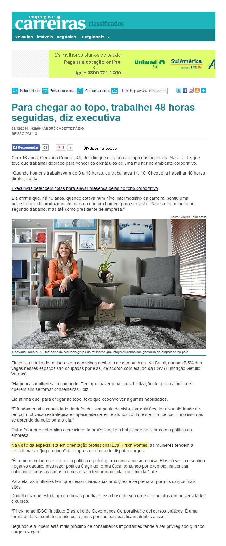 Folha de S Paulo_Empregos e Carreira_21
